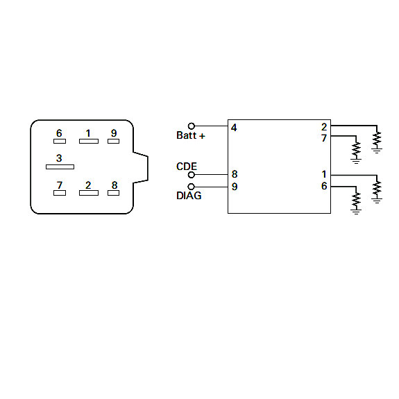 hight resolution of 0 133 30 durite 12v glow plug controller 7 pin